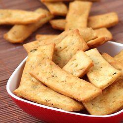 Basil and Garlic Flavored Crispy Snack for Kids (Namak Pare)