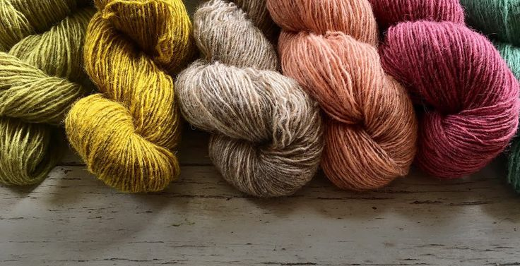 Isager Spinni and Spinni Melange - full colour range in stock