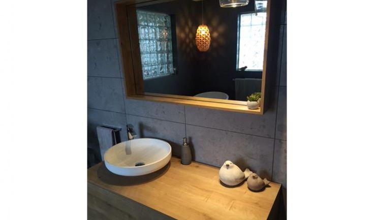 Stowport TAS 7320 bathroom inspiration basin mirror