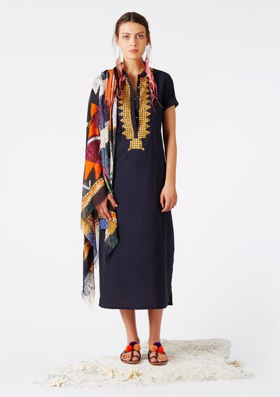 Dress, moroccan style - Figue: