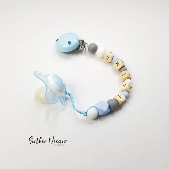 Baby Dummy Clips for Girls and Boys Soother Pacifier Clip BUY 2 AND GET 1 FREE