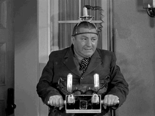 """The Three Stooges, """"Spook Louder"""", 1943 
