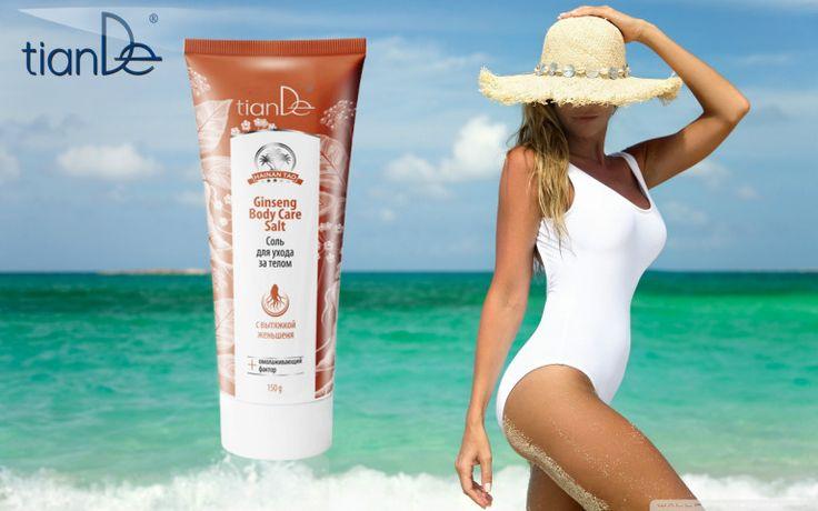 Peeling + καθαρισμού.  Καθαρίζει και κάνει αποτελεσματική απολέπιση στο δέρμα, το προστατεύει από την αρνητική επίδραση του περιβάλλοντος και κάνει λεία και ομαλή την επιδερμίδα. Αφαιρεί την αίσθηση δυσφορίας και της στυπτικότητας του δέρματος, μειώνει την ένταση του χρώματος στις χρωματισμένες περιοχές. Το άλας περιέχει εκχύλισμα εξαετούς ρίζας gingseng, που έχει την μέγιστη συγκέντρωση βιολογικά δραστικών ουσιών. Έχει βακτηριοκτόνο, αναζωογονητική τόνωση, διέγερση της κυκλοφορίας του…