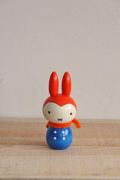 miffy as japan doll kokeshi style