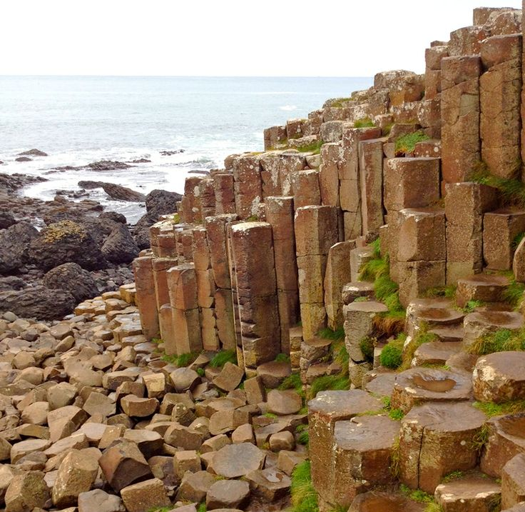 The celebrated Giant's Causeway