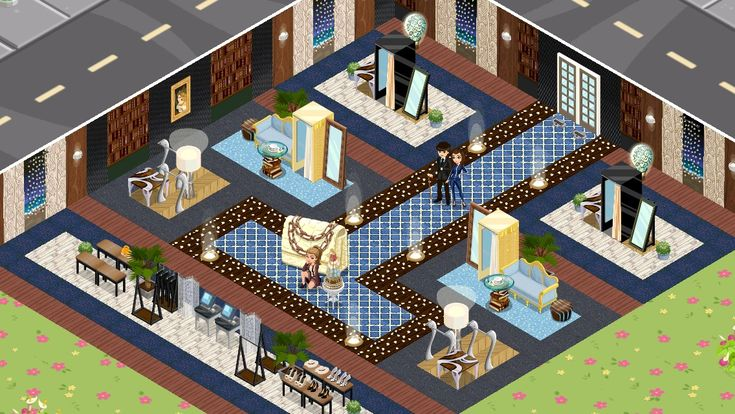 Vanity store (Jill's Caughy) in Fashion Story app game