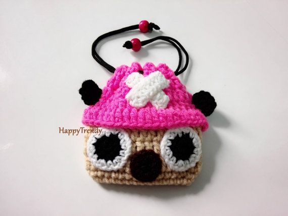 BA007 Crochet purse, Handmade purse, DIY purse - FREE SHIPPING