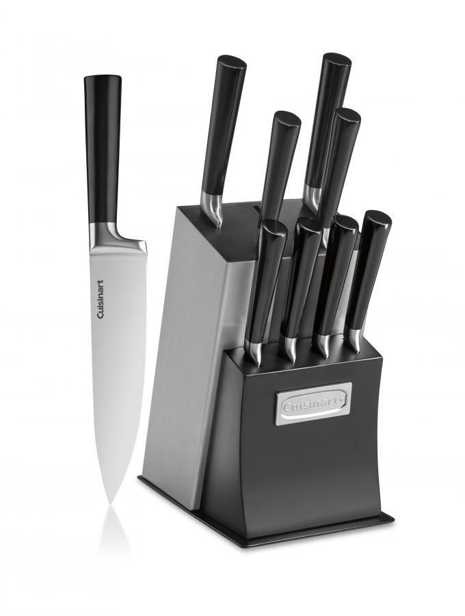 C77SSB-11P - Vetrano Collection 11pc Cutlery Block Set - Classic Cutlery Block Sets - Cutlery - Products - Cuisinart.com