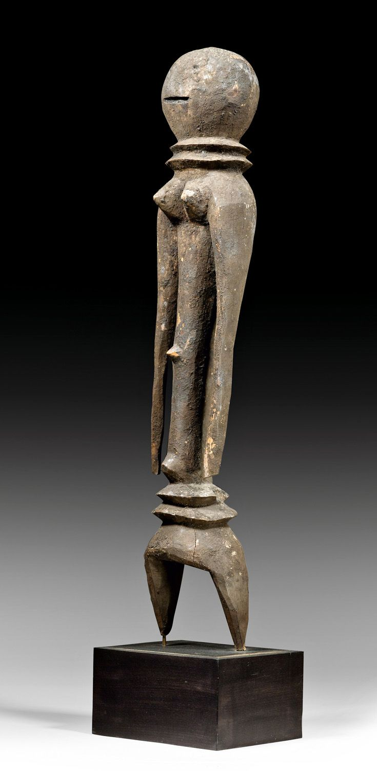 Africa | Figure from the Moba people of Togo | Wood