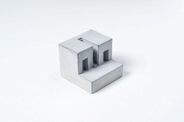 Miniature Concrete Home #8   Price : €31 Euro