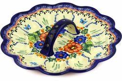 Devil Egg Platter - Butterfly design