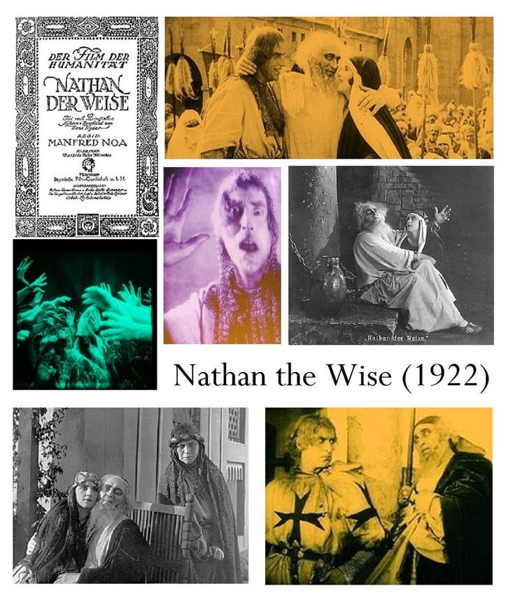 RARE Jewish silent film Nathan Der Weise / Nathan the Wise (1922) DVD