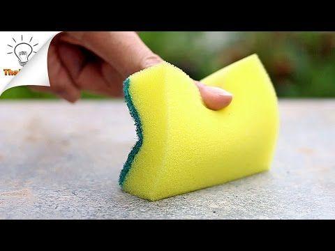15 modi per utilizzare spugne | Thaitrick - YouTube