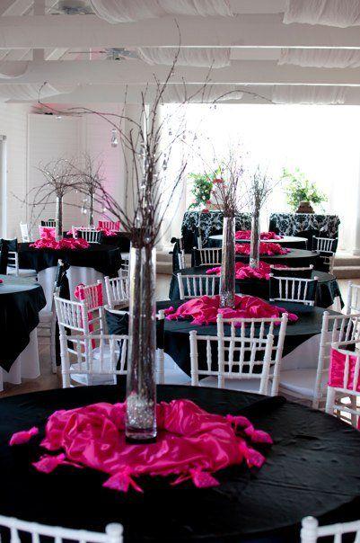 Best 25 Pink Black Weddings Ideas On Pinterest Wedding Hot And