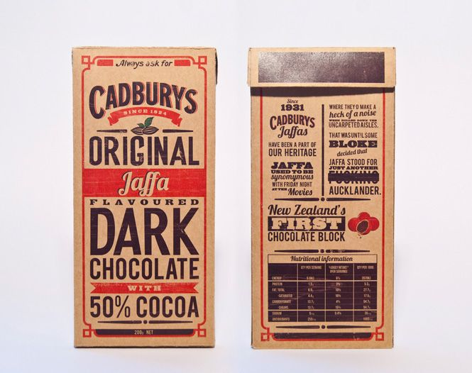 Cadbury's Original Dark on Behance