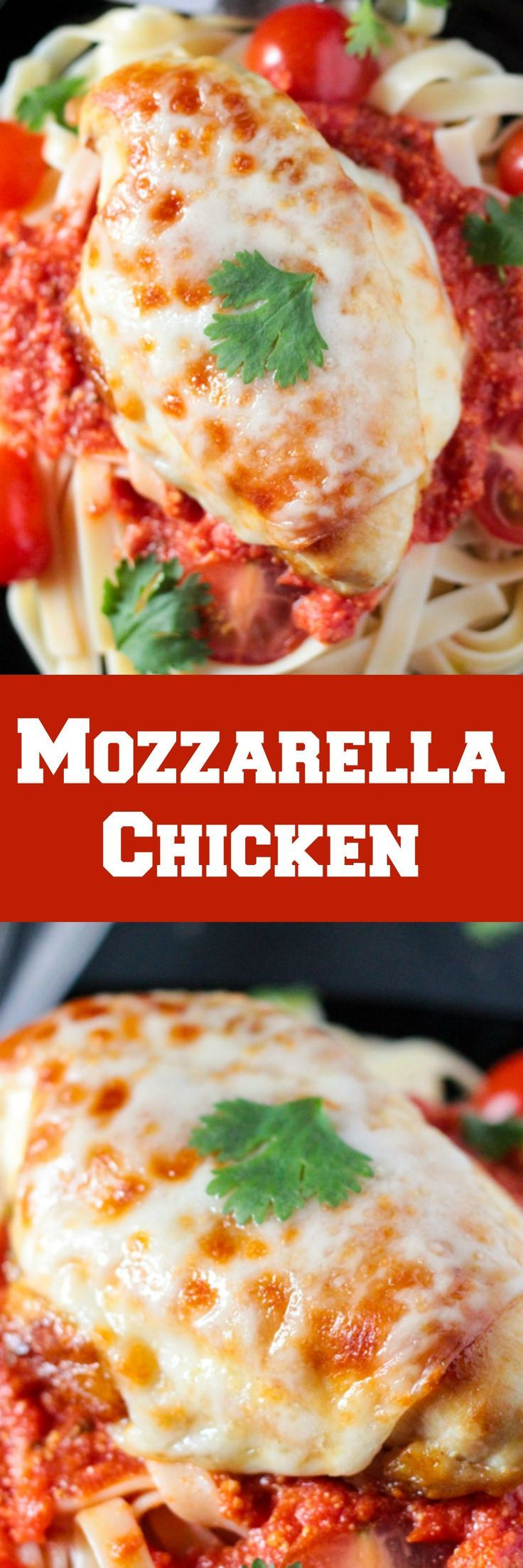 This 20 Minute Chicken Mozzarella is a quick and delicious recipe which is a perfect alternative to when you are craving Parmgiana Chicken but are short on time!
