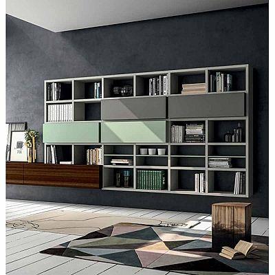 Delicate, elegant 'Leopardi' Bookshelf. High quality materials, beautiful design. My Italian Living