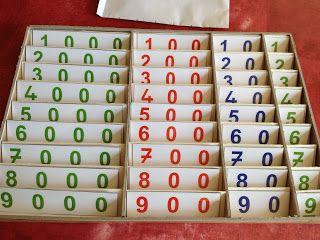 Le petit monde de Montessori Fabrication de la boîte de rangement des petits symboles