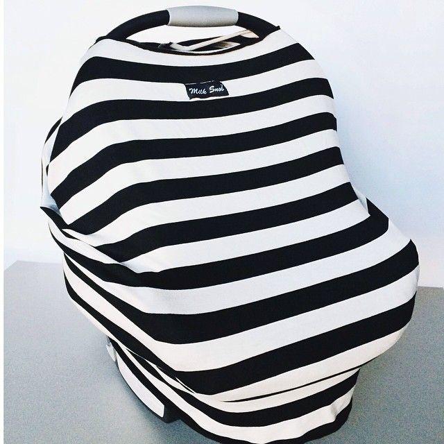Milk Snob car seat cover <3