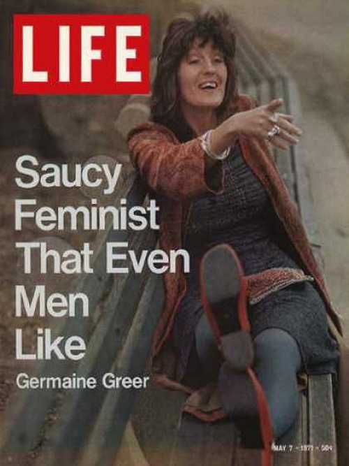 Germaine Greer…The Saucy Feminist That Even Men Like -Life magazine, May 1971.