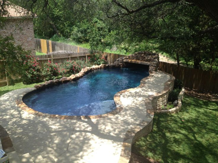 17 best images about pool on pinterest small yards for Pool design austin