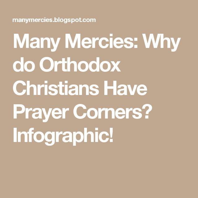 Many Mercies: Why do Orthodox Christians Have Prayer Corners? Infographic!