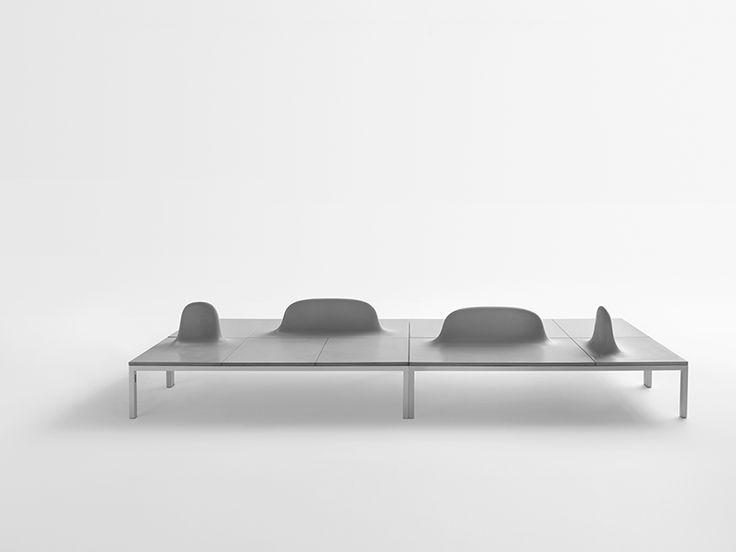 Shiro Studio Presents Uluru, A Modular System Of Innovative Concrete Benches