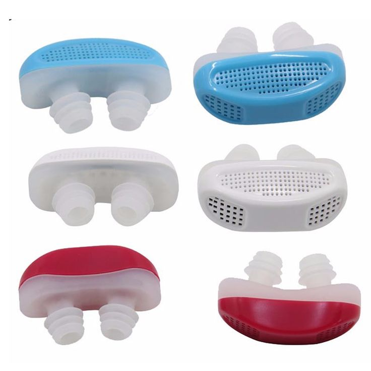 Portable Mini Snoring Device ABS Stop Anti Snoring Nose Relieve Nasal Congestion Effective Snoring Solution Anti Snore Device
