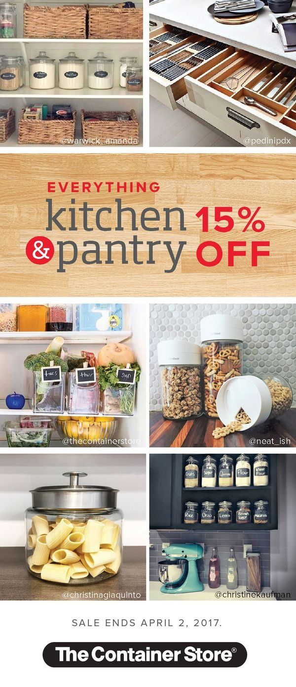 605 best kitchen organization images on pinterest kitchen drawer organizers canisters spice racks and more everything kitchen and pantry is 15