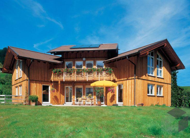 Das Blockhaus Singer Von Keitel Haus Bietet Eine Unschlagbare Wohnfläche  Von 215,86 M² Verteilt Auf 8,5 Zimmer ➤ Auswahl An Häusern Im  Alpenländischen Stil ...