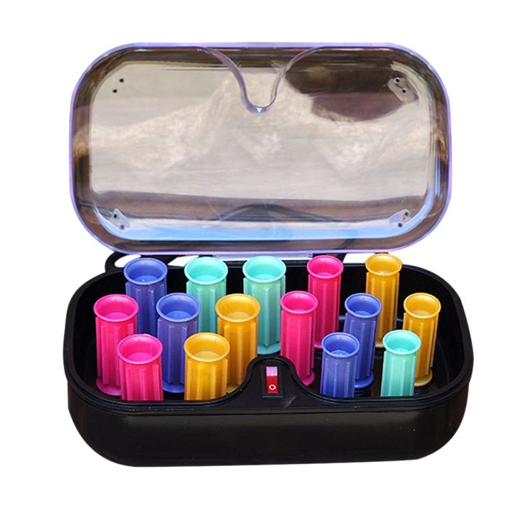 Good Quality 15 Pcs/Set Arrow Electronic Roll Hair Tube Heated Roller Sticks Tools Dropshipping