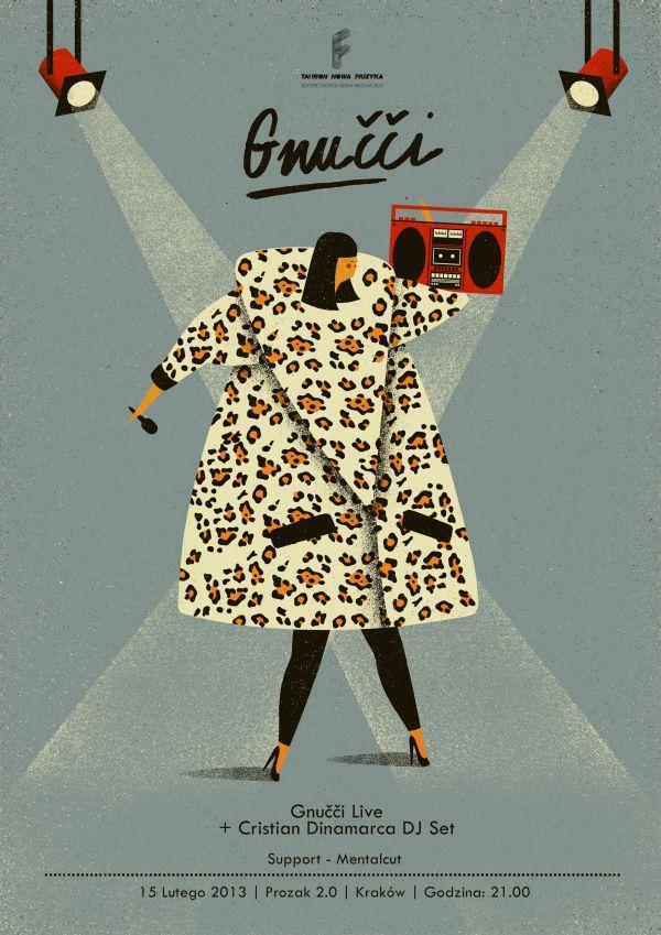 gnucci | tauron nowa muzyka | poster