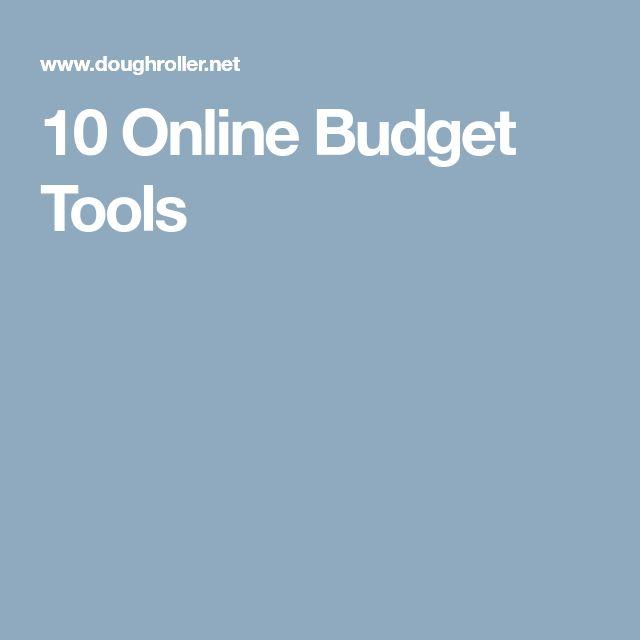 10 Online Budget Tools