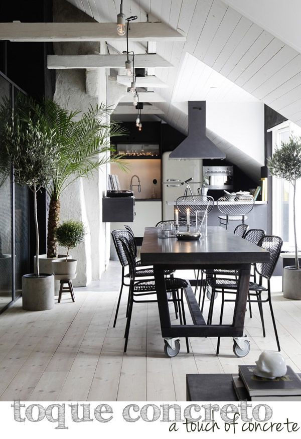 Mu00e1s de 1000 ideas sobre Mesa De Concreto en Pinterest : Muebles De ...