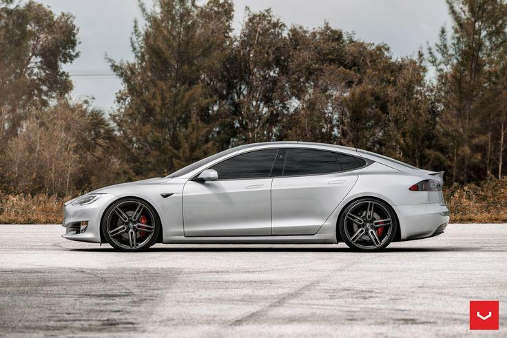 Modern cars dont get better than customized gray tesla