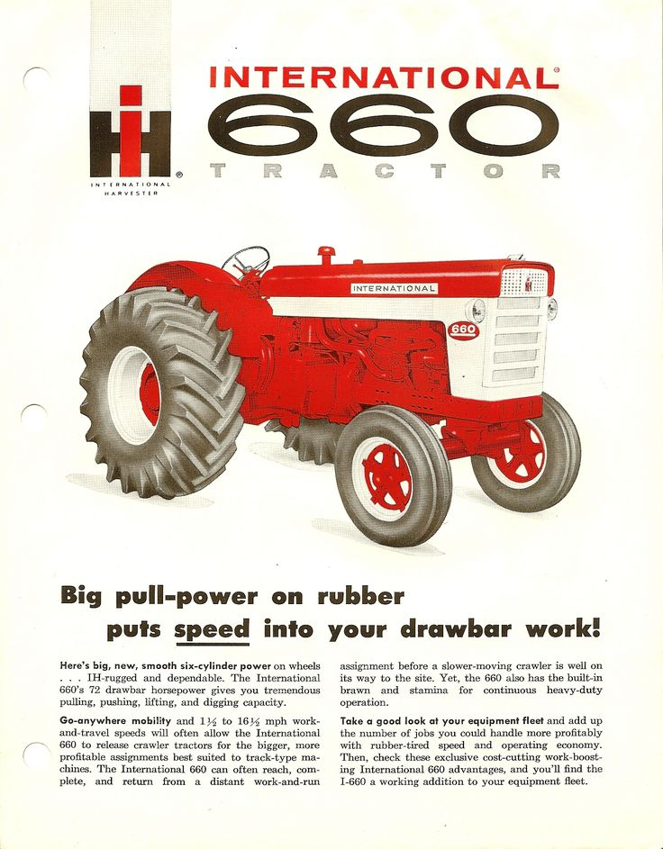 1960 International Tractor : Best images about farmall s and international harvester