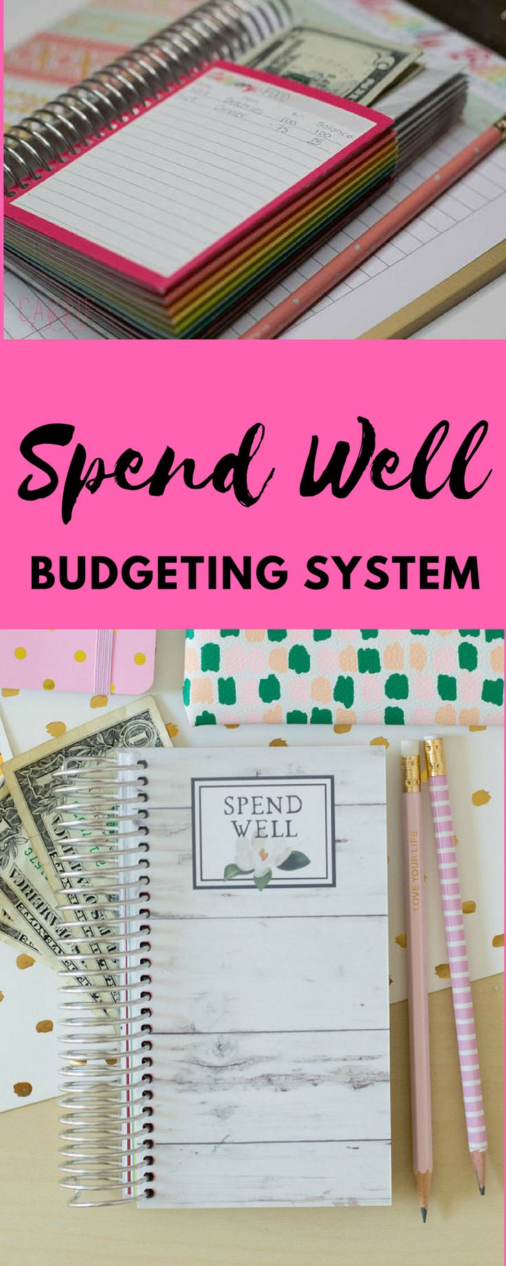 Spend Well Budgeting System - Magnolia #daveramsey #afflink