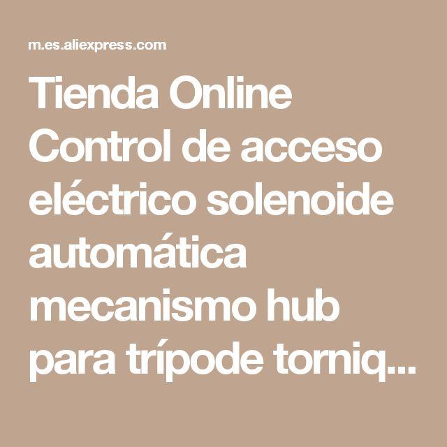 Tienda Online Control de acceso eléctrico solenoide automática mecanismo hub para trípode torniquete puerta motor | Aliexpress móvil