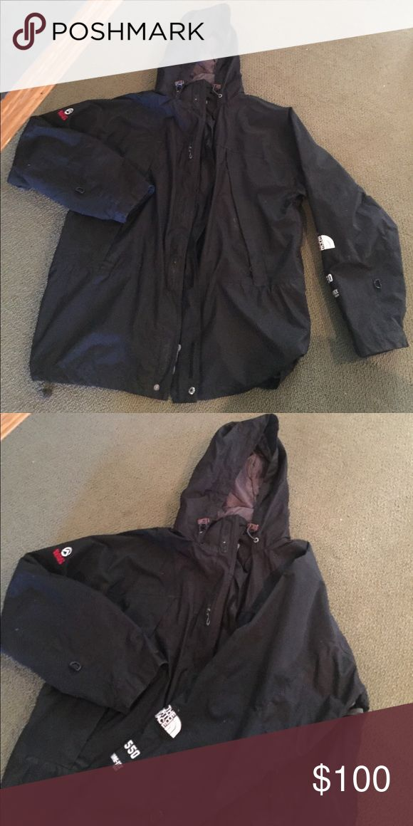 The North Face men's jacket Gore Tex Northface 550 Summit Series  jacket with hood. The North Face Jackets & Coats