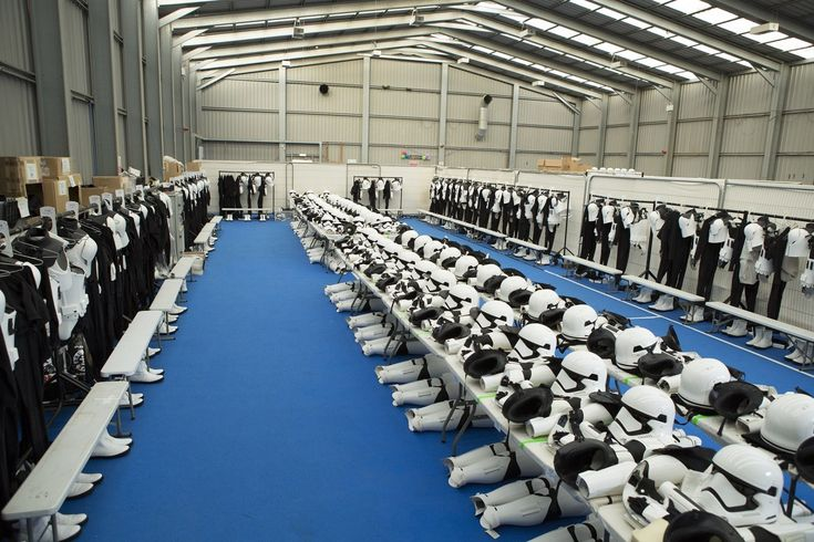 Stormtrooper Uniforms, allocation and fittings This is one part of my job