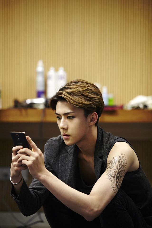 Sehun | official SMTOWN now 140903 update 'The Lost Planet in Guangzhao'