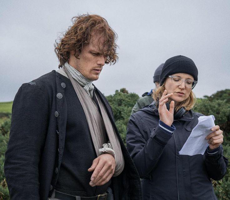 "NEW BTS Still of Sam Heughan in Outlander 3×08 ""First Wife"" | Outlander Online"