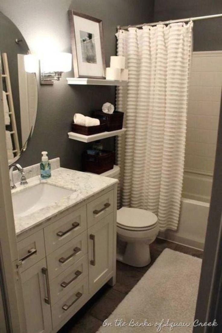 Small Bathroom Design Ideas Smallbath Pinterest Address Where You Can See The Original Version Of Thi Small Bathroom Gray Bathroom Decor Small Bathroom Decor