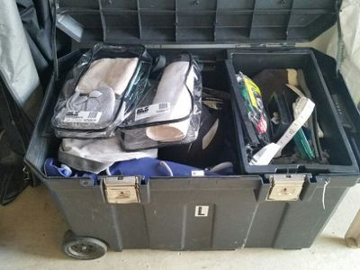 Tips for organizing your horse's tack… http://www.proequinegrooms.com/index.php/tips/equipment-and-tack/tack-trunk-organizing-and-cleaning/