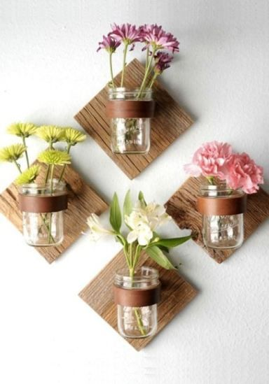 20 creative mason jar crafts will brighten your home this summer.