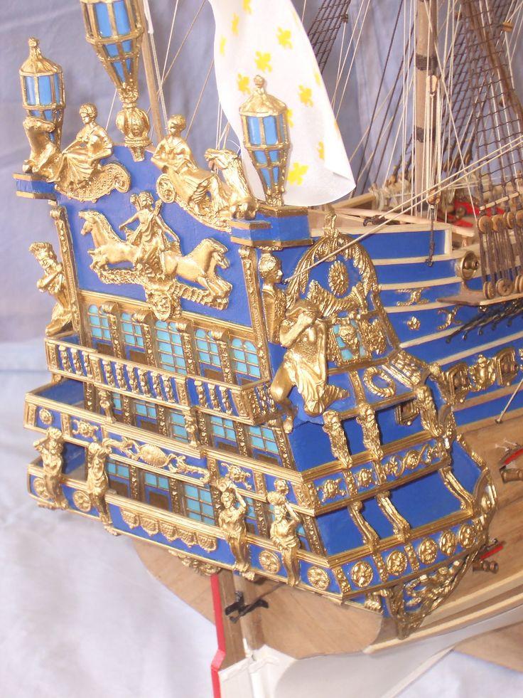 San Juan Nepomuceno, Soleil Royal, Wappen von Hamburg, hajómodell hajó m...