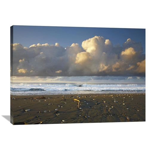 Beach And Waves, Corcovado National Park, Costa Rica By Tim Fitzharris, 30 X 40-Inch Wall Art