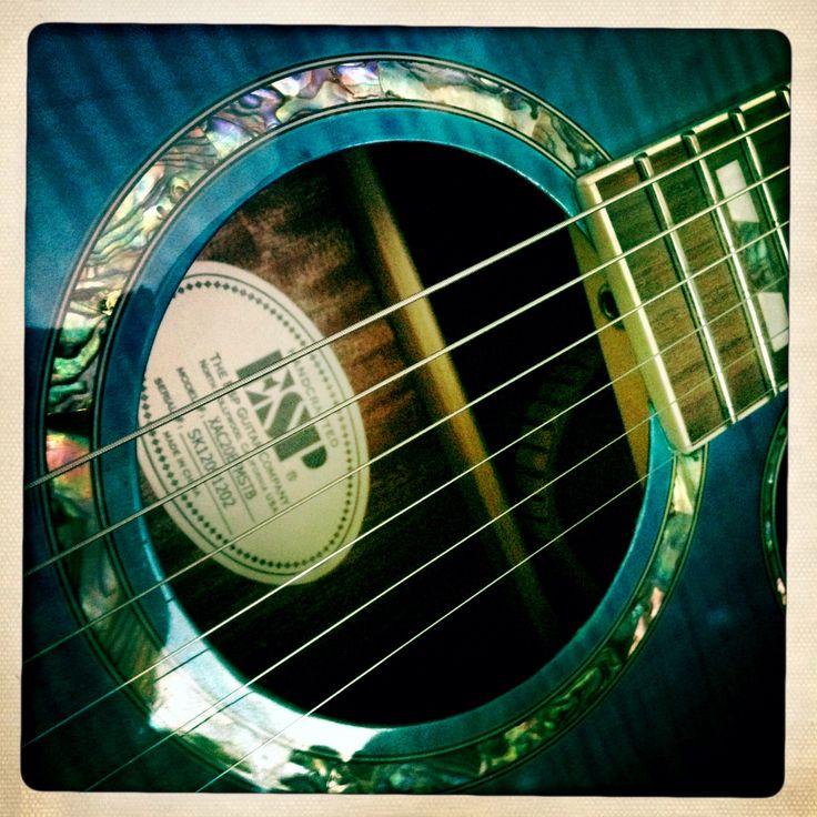 Esp xtone acoustic guitar