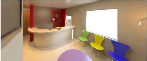 child psychology clinic #lobby #revit