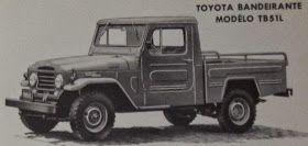"""Em maio de 1962 a montadora japonesa TOYOTA começou a fabricação de seus robustos ( e já famosos mundialmente) jipes e caminhonetes """"Lan..."""